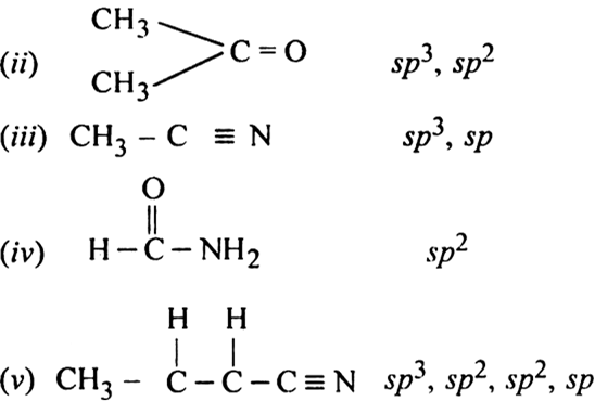 Ch3cl Electron Geometry And Molecular Shape: What Is The Type Of Hybridisation Of Each Carbon In The