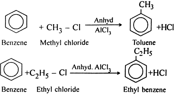 Write A Short Note On Friedel Craft S Reaction From
