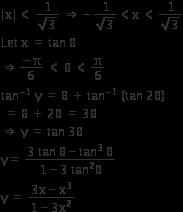 IIT - JEE Main Important Questions of Inverse Trigonometric