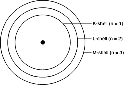 Draw A Sketch Of Bohr S Model Of An Atom With Three Shells From Science Structure Of The Atom Class 9 Himachal Pradesh Board