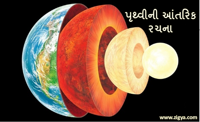 પૃથ્વીની આંતરિક રચના