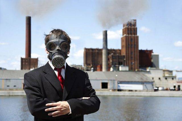 Wear Mask to prevent Air Pollution