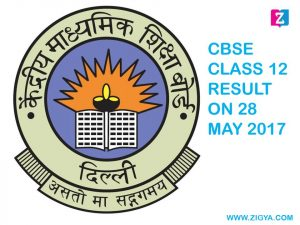 CBSE Class 12 Result will be Declared on 28 May