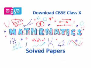 Download CBSE Mathematics Class X Solved 2017 Board Papers