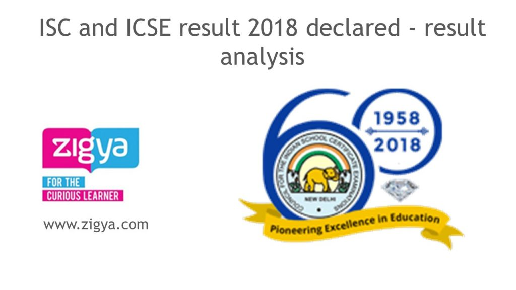 ISC and ICSE result