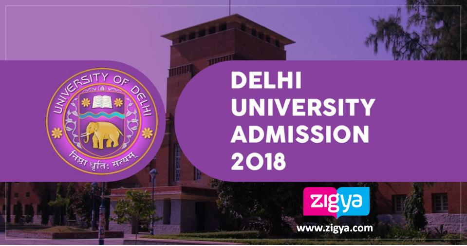 Delhi University 2018 Registration for UG Courses