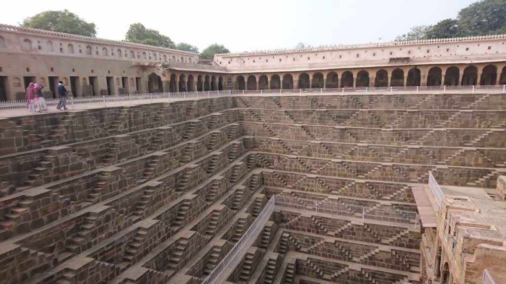 Chand Baori - Ancient Stepwell of India in Rajasthan