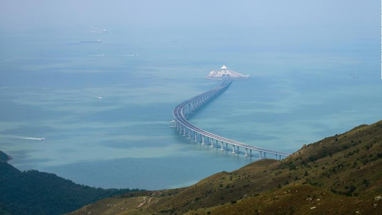 The World's largest sea-crossing bridge