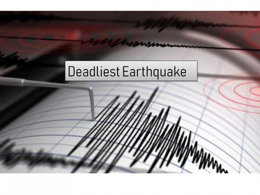 The Top 10 Deadliest Earthquake Recorded in History