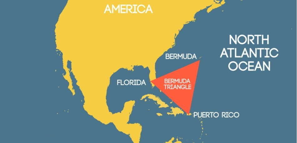 Bermuda Triangle - The Devil's Triangle in Atlantic Ocean