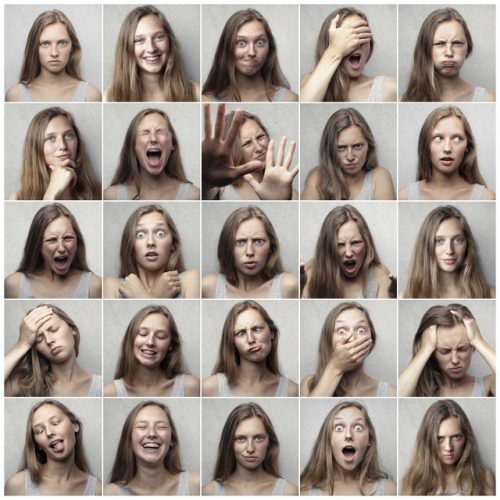 Different emotions to show effective emotion management strategies.