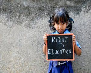 Free education for school-going children